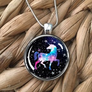 Other - Girls Magical Unicorn Pendant Necklace